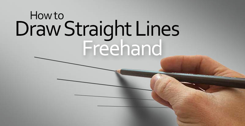 How To Make Straight Line Art : Free art lessons online